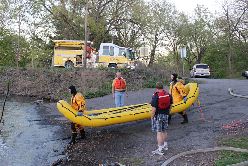 Water Rescue Drill