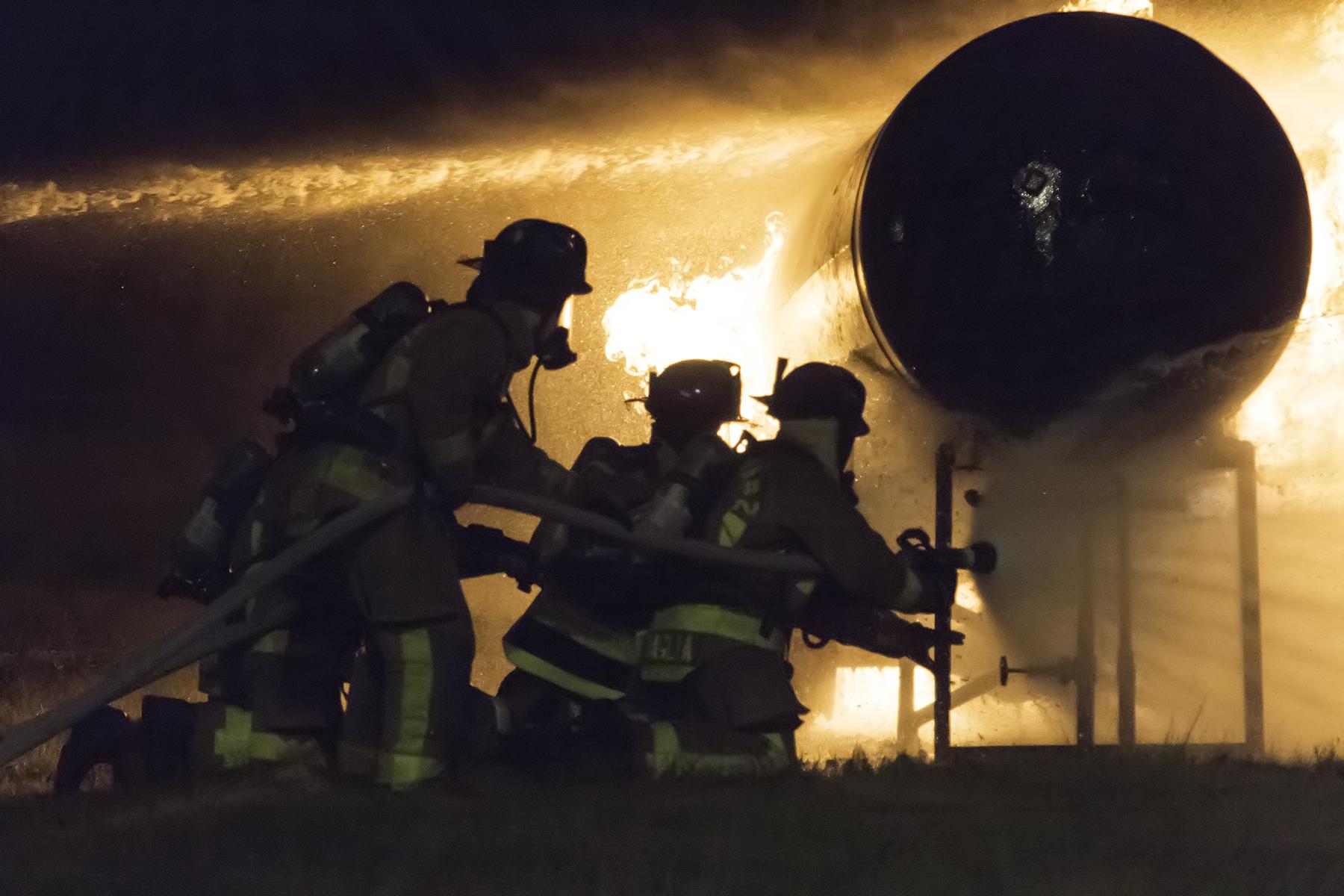 Propane Fire