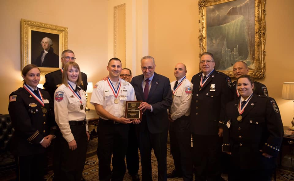 NFD2 Member Recognized with AAA Star of Life